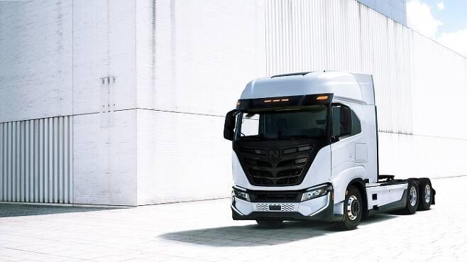 이베코와 니콜라가 배터리 전기트럭 '트레'(Tre)의 생산계획을 밝혔다. /사진제공=이베코