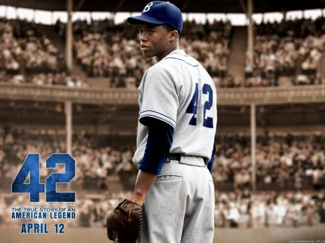 영화 '42' 포스터. 넷플릭스 캡쳐