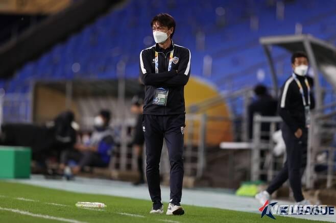 [서울=뉴시스] 울산 현대 홍명보 감독. (사진=프로축구연맹 제공)