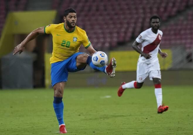 ▲ 헐크는 최근 브라질 국가대표팀에 부름을 받아 2022 카타르월드컵 남미 예선을 소화했다. ⓒ연합뉴스/AP