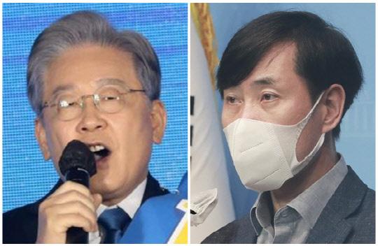 이재명(왼쪽) 경기도지사와 하태경 국민의힘 의원. 연합뉴스