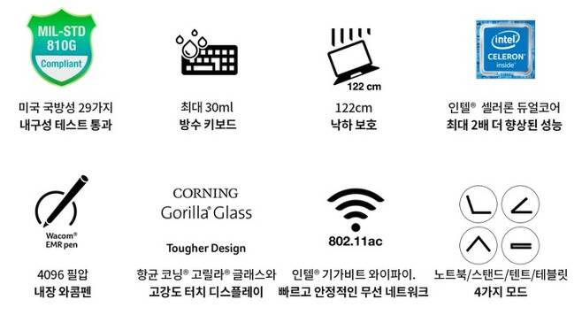 [서울=뉴시스]에이서 크롬북 장점.