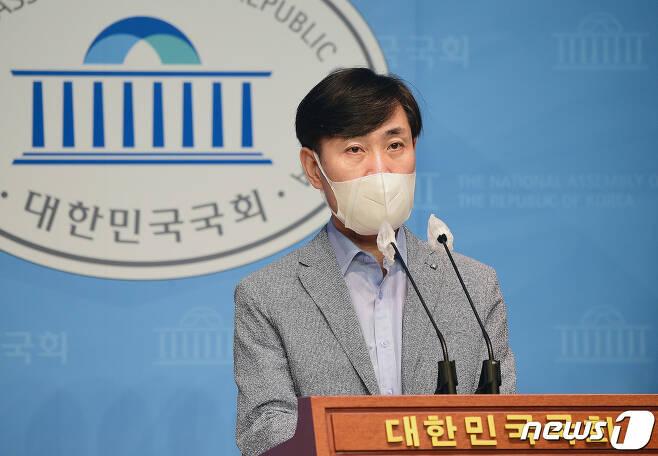 국민의힘 대선 예비후보인 하태경 의원/뉴스1 © News1 이동해 기자