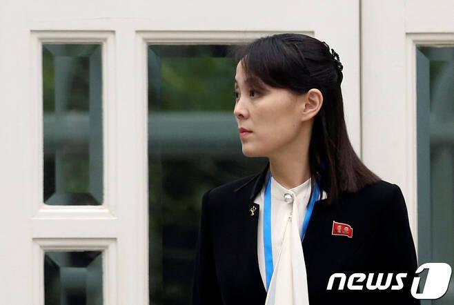김여정 북한 노동당 부부장. © 로이터=뉴스1 © News1 우동명 기자
