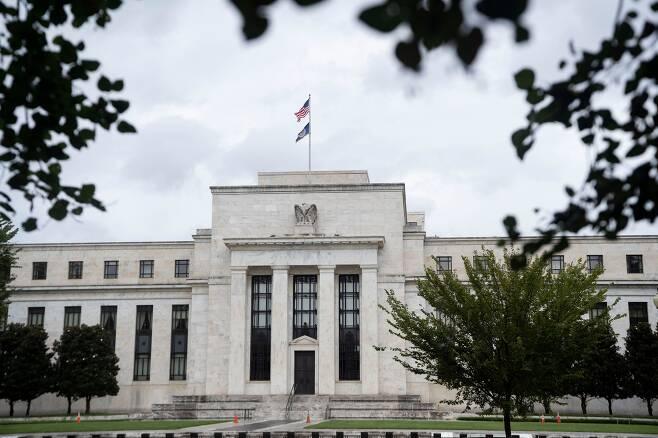 미국 워싱턴DC에 위치한 연방준비제도(Fed) 청사 전경.
