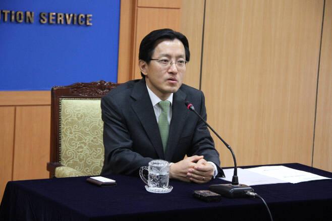 강찬우 전 수원지검장. 연합뉴스