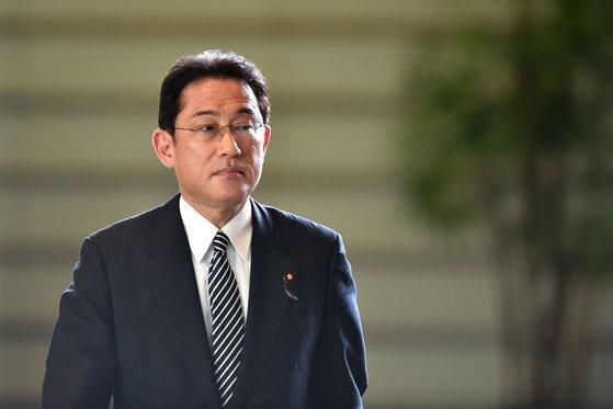 지난 4일 취임한 기시다 후미오 일본 총리. [AFP=연합뉴스]