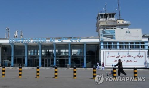 아프간 카불 국제공항.  [타스 연합뉴스 자료사진. 재판매 및 DB 금지]