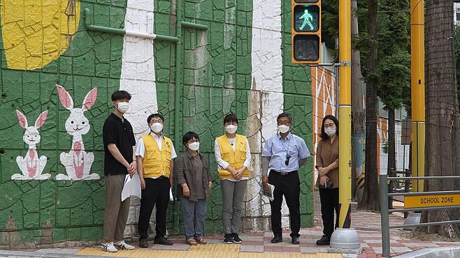 초록우산 어린이재단 경남아동옹호센터가 시작한 '그린로드 대장정'이 창원에서 3년째 이어지고 있다.ⓒ시사IN 최한솔