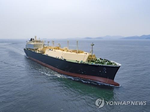 대우조선해양 LNG선  [대우조선해양 제공. 재판매 및 DB 금지]