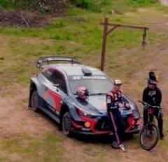 세기의 대결! i20 랠리카 VS 산악자전거