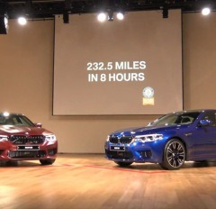 새로운 6세대 BMW M5 체험