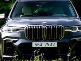 BMW  X7 M50d, 플래그십으로 투입된 최고의 SUV