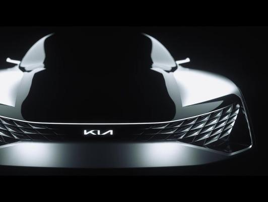 기아자동차의 전기차 SUV 쿠페 콘셉트카 '퓨처론(FUTURON)' 세계 최초 공개