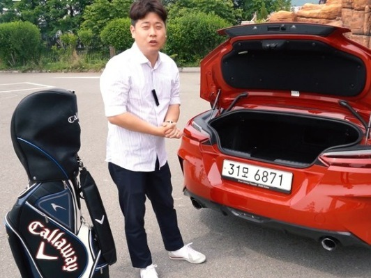 신형 BMW Z4도 예외없는 트렁크 골프백 리뷰!! [카랩/CARLAB]
