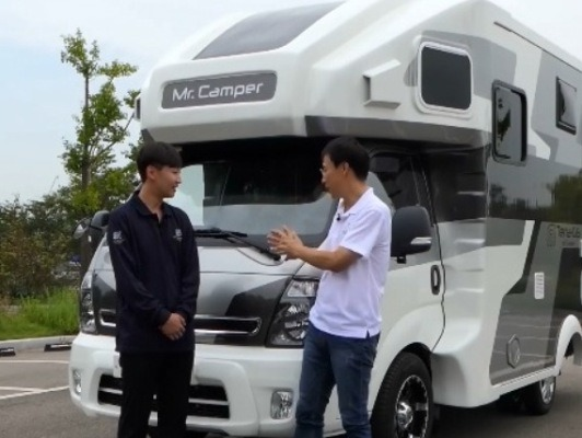 [리뷰]미친존재감 뿜어내는 1톤 캠핑카! - 미스터캠퍼 테라 G6
