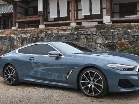 럭셔리 스포츠카 BMW 신형 8시리즈 공식 출시